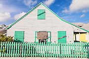A traditional cottage in New Plymouth on Green Turtle Cay, Bahamas.