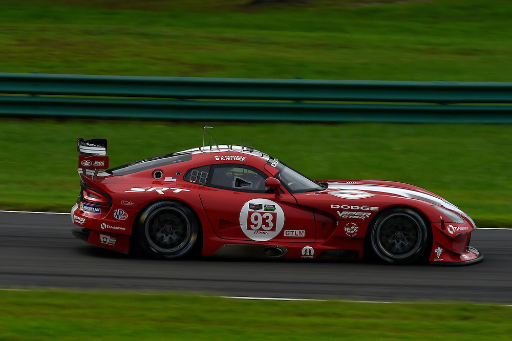 22-24 August 2014, Alton, Virginia USA<br /> 93, Viper V10, SRT GTS-R, GTLM, Jonathan Bomarito, Kuno Wittmer<br /> &copy;2014, Scott R LePage <br /> LAT Photo USA