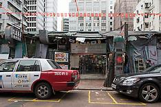 Temple Street Temporary Cooked Food Hawker Bazaar
