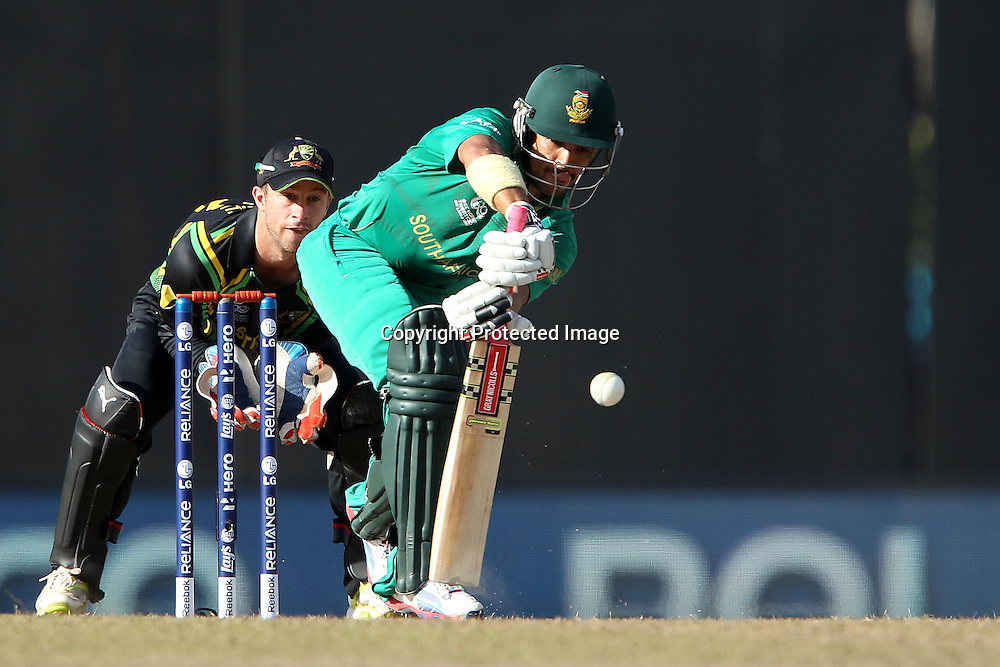 JP Duminy during the ICC World Twenty20 Super 8s match between Australia and South Africa held at the Premadasa Stadium in Colombo, Sri Lanka on the 30th September 2012<br /> <br /> Photo by Ron Gaunt/SPORTZPICS