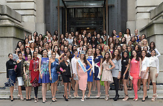 NOV 25 2014 Miss World Contestants in London