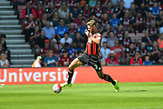 AFC Bournemouth's Simon Francis during the Barclays Premier League match between Bournemouth and Aston Villa at the Goldsands Stadium, Bournemouth, England on 8 August 2015. Photo by Mark Davies.