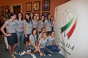 ROMA 1 LUGLIO 2008<br /> BASKET PRESENTAZIONE CANDIDATURA MONDIALI 2014<br /> NELLA FOTO NAZIONALE ITALIANA UNDER 18<br /> FOTO CIAMILLO