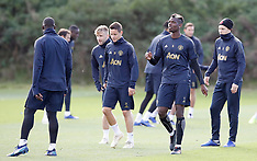 Manchester United Press Conference and Training Session - 22 Oct 2018