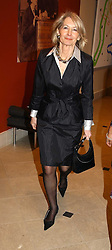 Left, SANDRA HOWARSD at a fundraising evening for the Conservative Party General Election Campaign Fund held at Bonhams, 101 New Bond Street, London W1 on 17th March 2005.<br />