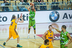 Nebojsa Joksimovic of Slovenia during friendly basketball match between National teams of Slovenia and Ukraineat day 1 of Adecco Cup 2015, on August 21 in Koper, Slovenia. Photo by Grega Valancic / Sportida