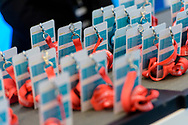 Event Photography images from Tivoli Congress Center in Copenhagen. The client was Basware, based in Finland<br /> <br /> A close-up of guest passes for those in attendance.  <br /> <br /> © Event Photographer in Copenhagen Matthew James
