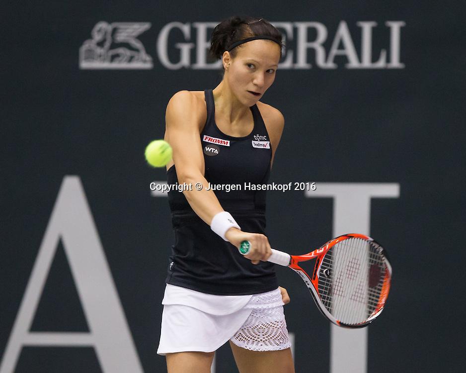 VIKTORIJA GOLUBIC (SUI)<br /> <br /> Tennis - Ladies Linz 2016 - WTA -  TipsArena  - Linz - Oberoesterreich - Oesterreich - 13 October 2016. <br /> &copy; Juergen Hasenkopf