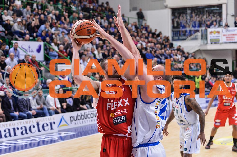 Nathan Boothe<br /> Banco di Sardegna Dinamo Sassari - The Flexx Pistoia Basket<br /> Legabasket Serie A LBA Poste Mobile 2016/2017<br /> Sassari 04/03/2017