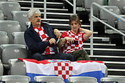 Fans of Croatia during the EHF 2018 Men's European Championship, 2nd Round, Handball match between Serbia and Norway on January 18, 2018 at the Arena in Zagreb, Croatia - Photo Laurent Lairys / ProSportsImages / DPPI