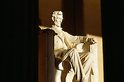 Washington DC, Lincoln Memorial in early morning.