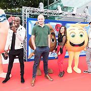 NLD/Amsterdam/20170802 - Premiere De Emoji film, Arjen Lubach, Boris van der Ham en Jandino Asporaat, Bibi Breijman