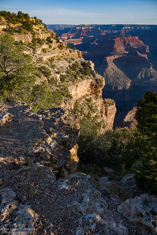 View of the Grand Canyon from Powell Point