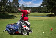 Golfers met fysieke beperking