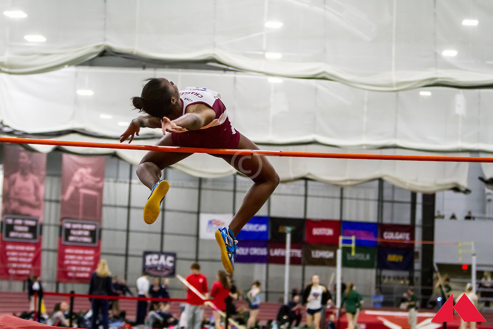 ECAC Indoor Champs, womens high jump, Tindall, Julisa           SO Col. of Charleston