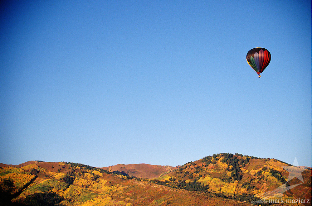 fall ballooning in Park City UT USA
