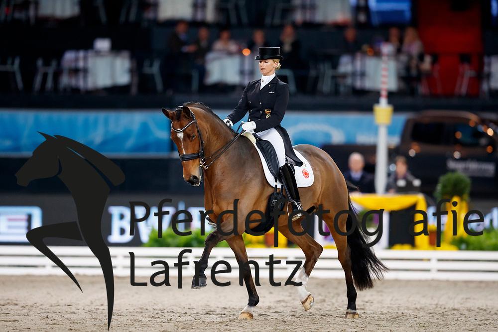 Bredow-Werndl, Jessica (GER) Zaire-E<br /> Stuttgart - German Masters 2017<br /> &copy; www.sportfotos-lafrentz.de/Stefan Lafrentz