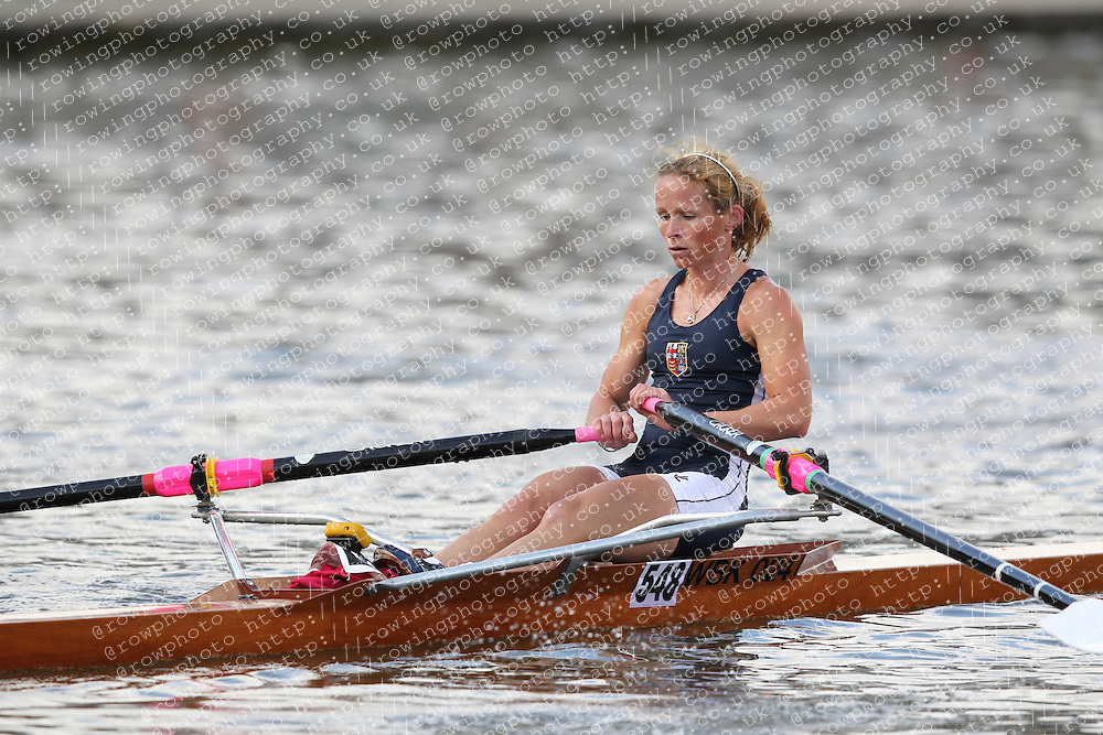 2012.09.29 Wallingford Long Distance Sculls 2012. Division 3. W.IM3 1x. London Rowing Club. Category Winner.