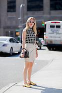 New York - Street Style - 14 Sep 2016