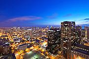 Dusk Photo Of San Diego Skyline
