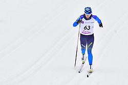 LIASHENKO Liudmyla, UKR, LW8 at the 2018 ParaNordic World Cup Vuokatti in Finland
