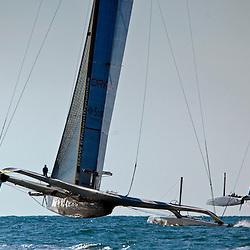 Race1<br /> 2010 America's Cup, Valencia<br /> ©2010 Kaufmann/Forster go4image.com