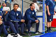 Jan Siewert of Huddersfield Town (Manager) during the EFL Sky Bet Championship match between Huddersfield Town and Derby County at the John Smiths Stadium, Huddersfield, England on 5 August 2019.