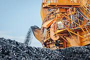 Kooragang Coal Loader, Newcastle Australia. Newcastle is Australia's largest coal exporter