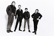 A studio portrait of The Stranglers