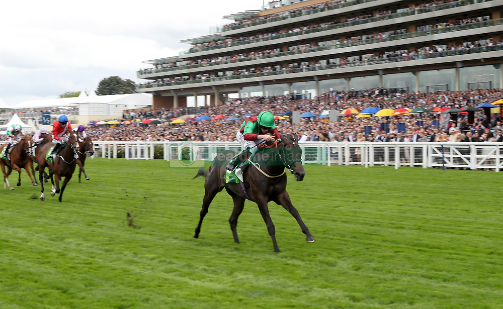 Nyaleti ridden by Ryan Moore wins The Princess Margaret Juddmonte Stakes Race during day two of King George VI Weekend at Ascot Racecourse, Berkshire.