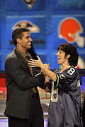 Kansas City Chiefs quarterback Trent Green appears on NFL Players Week on Wheel of Fortune on 11/04/2003. ©Paul Anthony Spinelli/NFL Photos