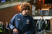 Marouane Fellaini Midfielder of Manchester United arrives at the ground during the Premier League match between Crystal Palace and Manchester United at Selhurst Park, London, England on 14 December 2016. Photo by Phil Duncan.
