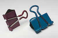 Two binder clips