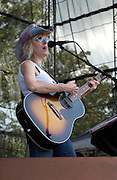Manchester, TN.  2004 Bonnaroo Music Festival. Lucinda Williams performs at Bonnaroo 2004. Mandatory Credit: Bryan Rinnert/3Sight Photography..