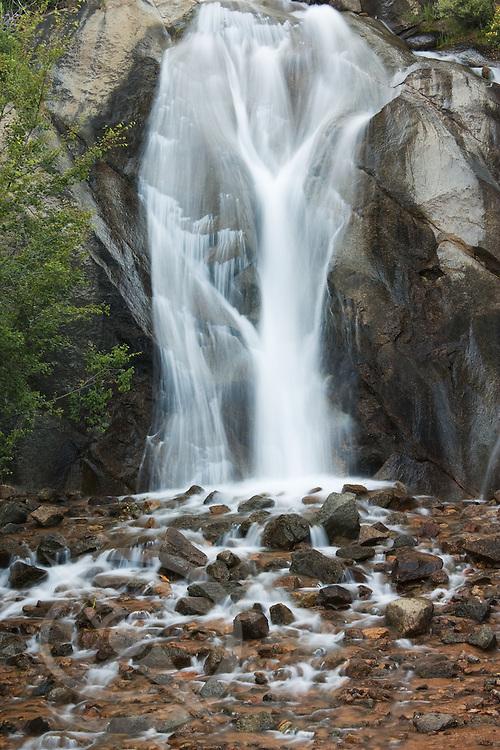 Helen Hunt Falls in North Cheyenne Canyon. Colorado Springs, Colorado