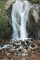 Helen Hunt Falls in North Cheyenne Canyon. Colorado Springs, Colorado