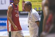Ettore Messina<br /> Raduno Nazionale Maschile Senior<br /> Allenamento pomeriggio<br /> Cagliari, 05/08/2017<br /> Foto Ciamillo-Castoria/ M. Brondi