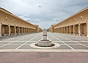 Gibellina:  il Sistema delle piazze (di Laura Thermes e Franco Purini).<br /> new Gibellina: the main square called &quot; square system&quot; (by Laura Thermes e Franco Purini)