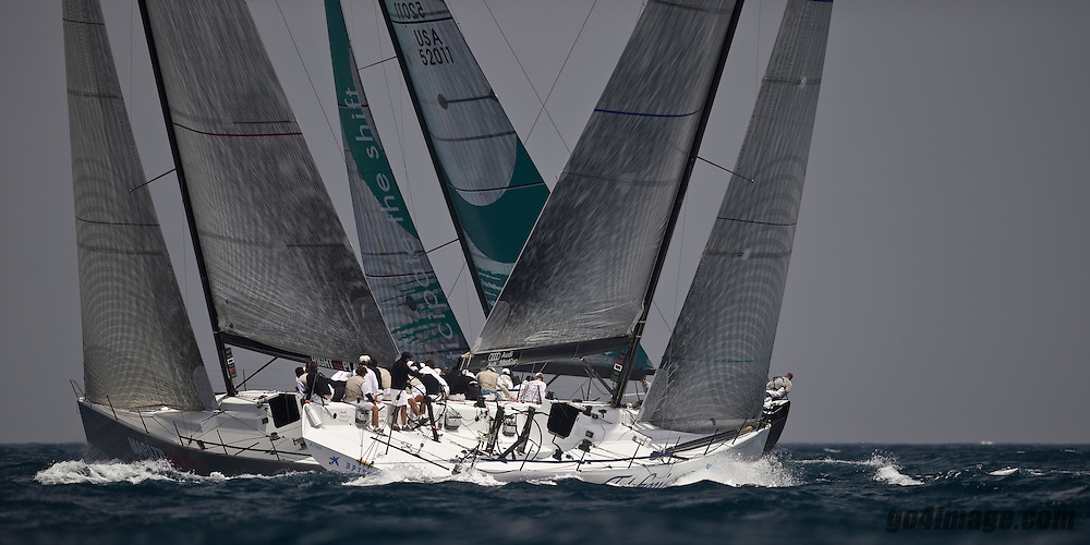 TP 52 from Marazzi Sailing Training in Alicante. May 2009, Audimed Cup