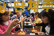 Dongdaemun Market. Ramien restaurant.