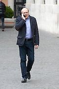 2013/03/29 Roma, politici in Piazza Montecitorio. Nella foto Lorenzo Dellai.<br /> Rome, politicians in Montecitorio Square. In the picture Lorenzo Dellai - &copy; PIERPAOLO SCAVUZZO