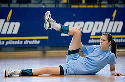 Ana Gros at practice of Slovenian Handball Women National Team, on June 3, 2009, in Arena Kodeljevo, Ljubljana, Slovenia. (Photo by Vid Ponikvar / Sportida)