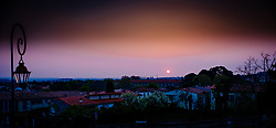 The sun rises over the city of Carcassonne in southern France<br /> <br /> (c) Andrew Wilson   Edinburgh Elite media