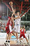 DESCRIZIONE : Chieti Qualificazione Eurobasket Women 2009 Italia Turchia <br /> GIOCATORE : Giauro<br /> SQUADRA : Nazionale Italia Donne <br /> EVENTO : Raduno Collegiale Nazionale Femminile<br /> GARA : Italia Turchia Italy Turkey <br /> DATA : 27/08/2008 <br /> CATEGORIA : tiro<br /> SPORT : Pallacanestro <br /> AUTORE : Agenzia Ciamillo-Castoria/M.Marchi <br /> Galleria : Fip Nazionali 2008 <br /> Fotonotizia : Chieti Qualificazione Eurobasket Women 2009 Italia Turchia <br /> Predefinita : si