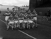 17/03/1961<br /> 03/17/1961<br /> 17 March 1961<br /> Soccer: League of Ireland v Irish League at Dalymount Park, Dublin.  The Irish League team.