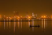 Kinshasa as seen from Brazzaville<br /> Congo River<br /> Republic of Congo (Congo - Brazzaville)<br /> AFRICA