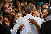 "President Obama hosts a town hall meeting at University of Maryland on Friday to make his case for a ""grand bargain"" solution with Congress 12 days before the United States faces a potential financial default. Obama appeared at the 1,200-seat Ritchie Coliseum in College Park"