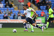 Bolton Wanderers midfielder Liam Feeney surges forward during the Sky Bet Championship match between Bolton Wanderers and Brighton and Hove Albion at the Macron Stadium, Bolton, England on 26 September 2015.