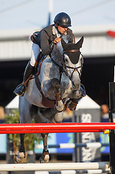 Vernaet Frederic (BEL) - Houston<br /> Final 7 years<br /> FEI World Breeding Jumping Championships for Young Horses - Lanaken 2014<br /> © Dirk Caremans