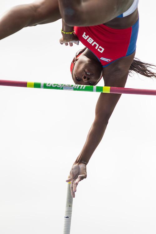 Yarisley Silva, Cuba, wins women's pole vault, adidas Grand Prix Diamond League track and field meet